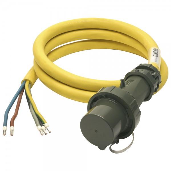 DÖNGES Einspeiseleitung mit Stecker THW-Version 400 V, 63 A, 3 m