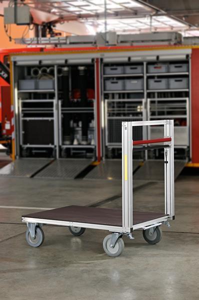 Universal-Rollcontainer mit 1 Plattform