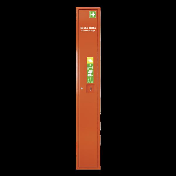 SÖHNGEN Stehschrank Erste-Hilfe-Trage leer orange
