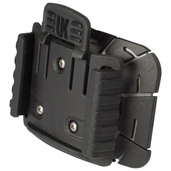 UK Helmhalterung für UK Vizion zum Kleben schwarz, Kunststoff, 27 g
