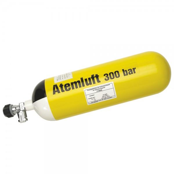 Atemluftflasche Stahl 6 l