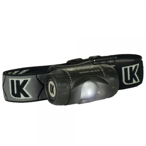 UK Stirnlampe 3AAA Vizion, schwarz