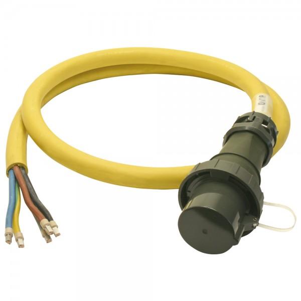 DÖNGES Einspeiseleitung mit Stecker THW-Version 400 V, 125 A, 3 m
