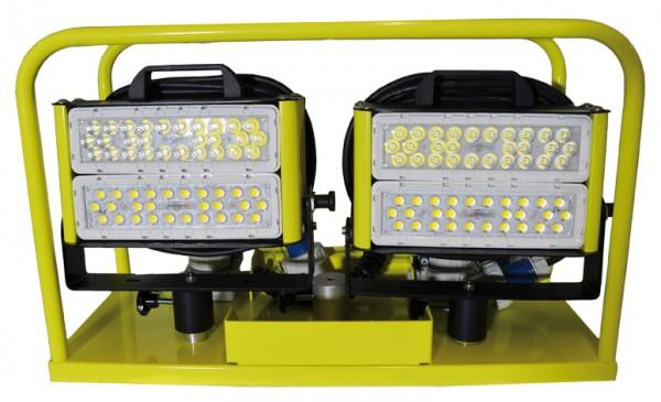 ALDEBARAN Scheinwerfertrage inkl. ALDEBARAN GLADIUS 2K LED