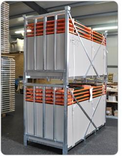 Transportbox 80 cm für Biertischgarnituren