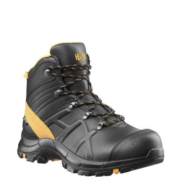 HAIX Black Eagle Safety 54 Mid Black/Orange