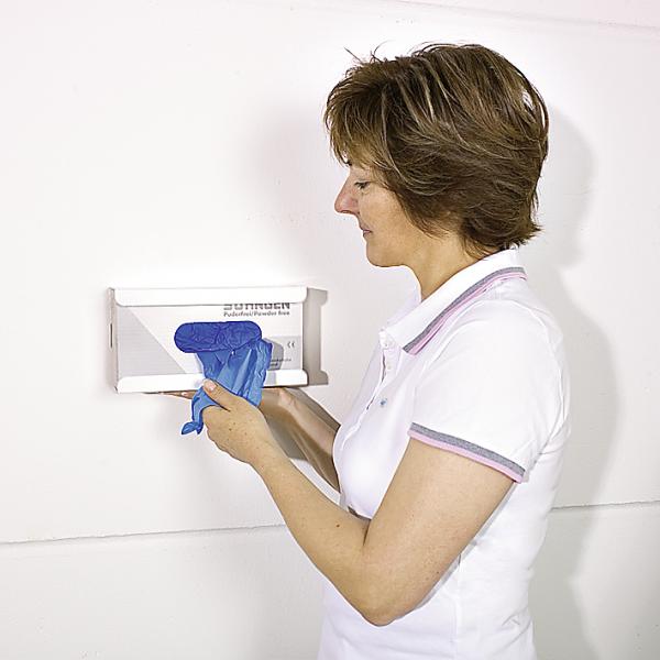 Wandhalter für Handschuhe Stahlblech