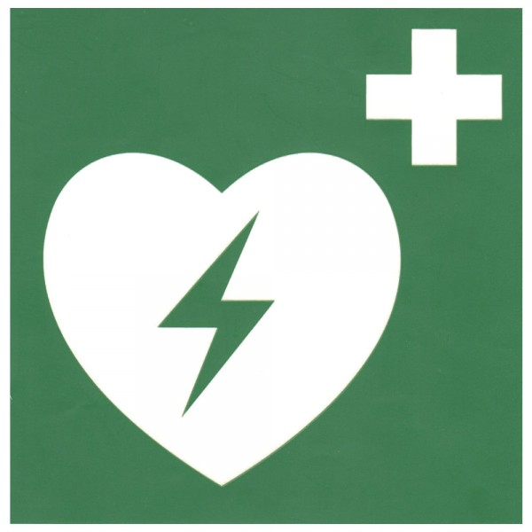 ZOLL Hinweisschild AED , 15 x 15 cm
