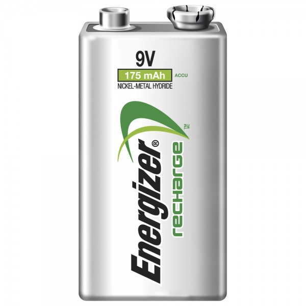 ENERGIZER NiMH Akku Power Plus, 6LR61/Block, 9 V