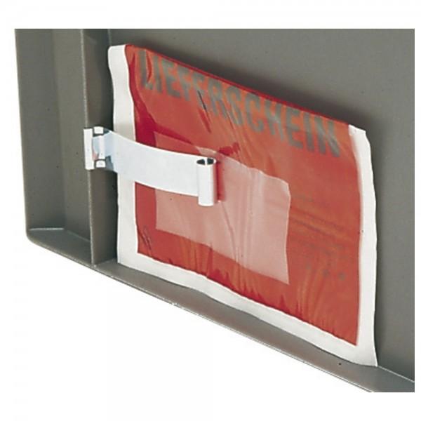 DÖNGES Etikettenklammer für Stapeltransportkasten