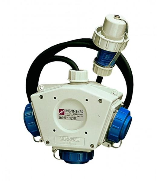 MENNEKES Druckwasserdichter Mehrfach-Verteiler 230 V, IP 68