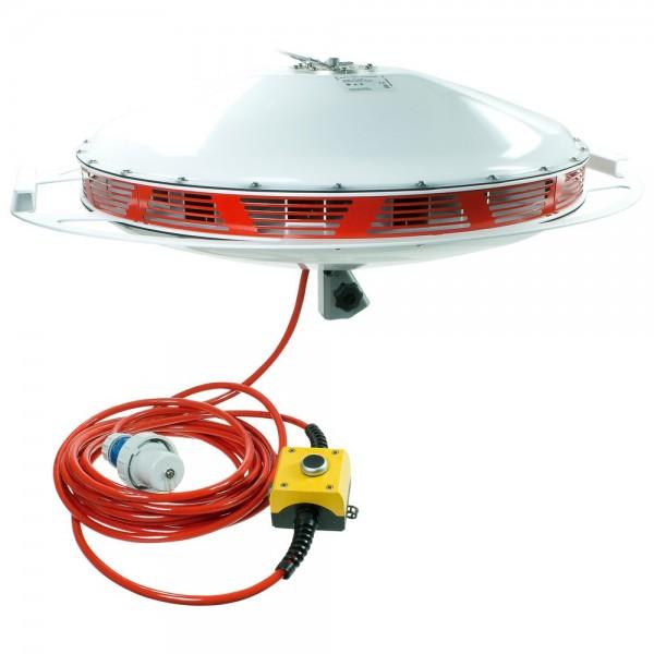 SONLUX Großflächenleuchte PowerDisk Emergency, Farbtemperatur 4.000 K
