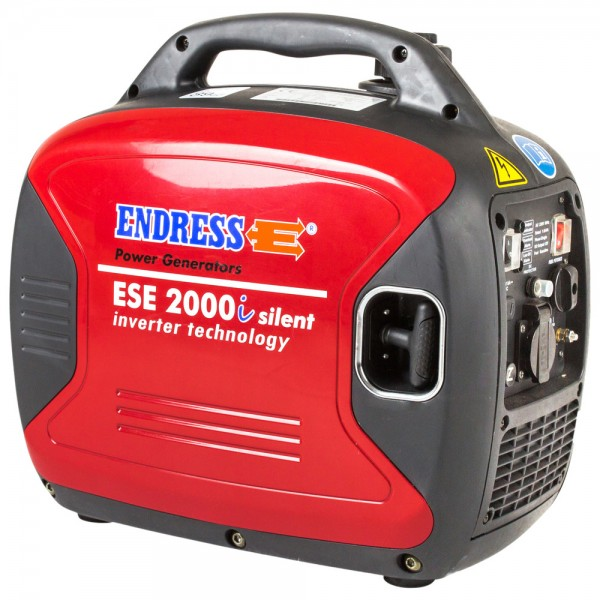 Endress Stromerzeuger ESE 2000i Silent, IP68 Steckverbindungen