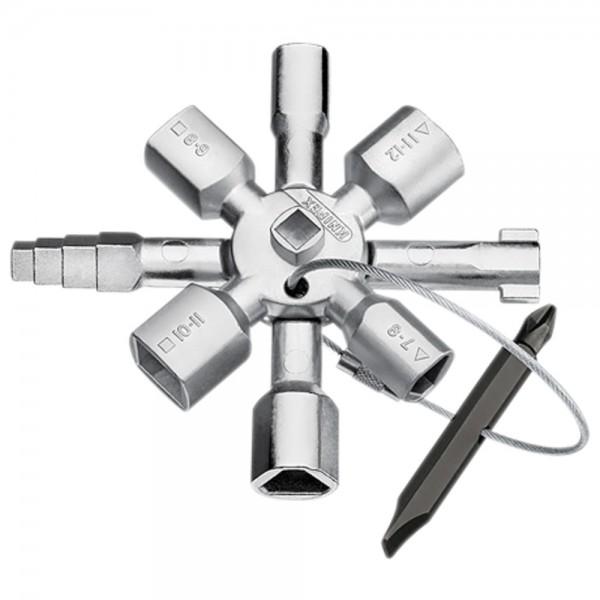 KNIPEX Schaltschrankschlüssel TwinKey