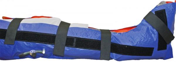 SCHNITZLER Vakuum-Schiene Bein inkl. Kniefixierung Mehrkammer
